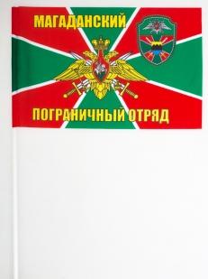 Двухсторонний флаг «Магаданский пограничный отряд»