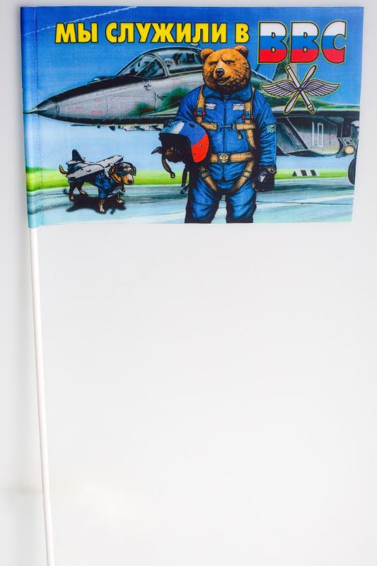 Флажок на палочке «ВВС Медведь»