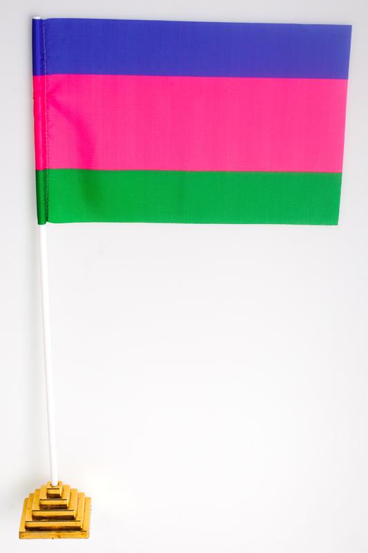 Двухсторонний флаг Кубанского казачьего войска «старый»