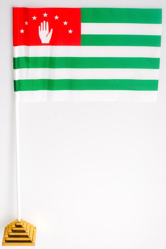 Флажок настольный «Флаг Абхазии»