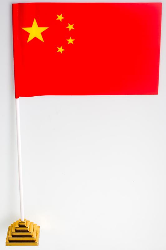 Флажок настольный «Флаг Китая»