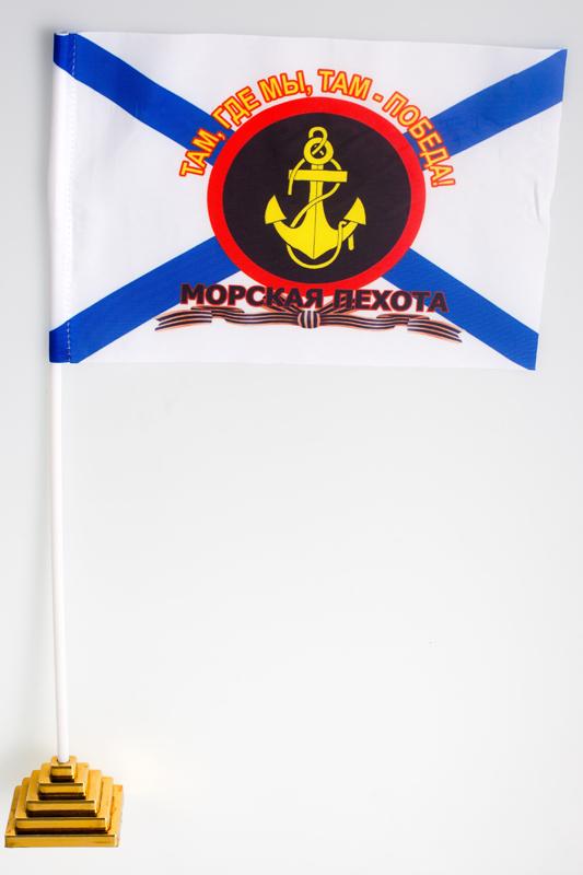 """Флажок """"Знак Морской пехоты"""""""