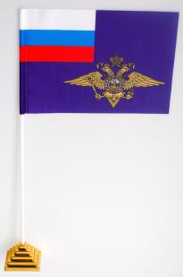 Двухсторонний флаг МВД