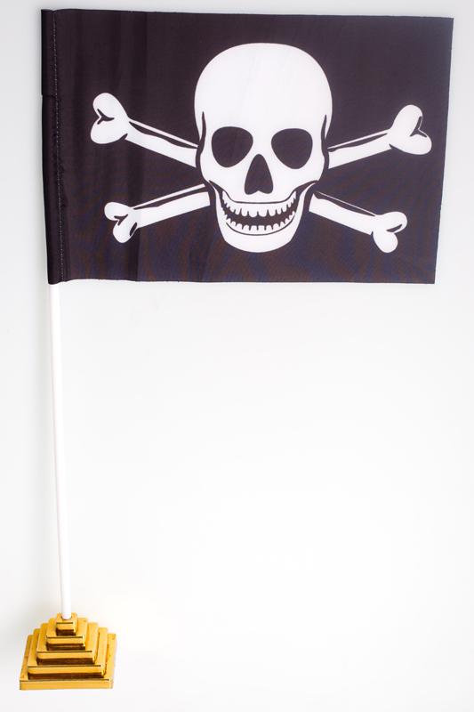 """Флажок настольный """"Пиратский"""""""
