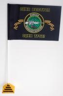 Флажок настольный Снайпер «Черные береты»