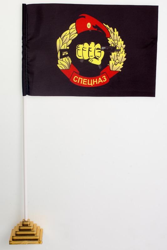 Флажок настольный Спецназ ВВ «черный»