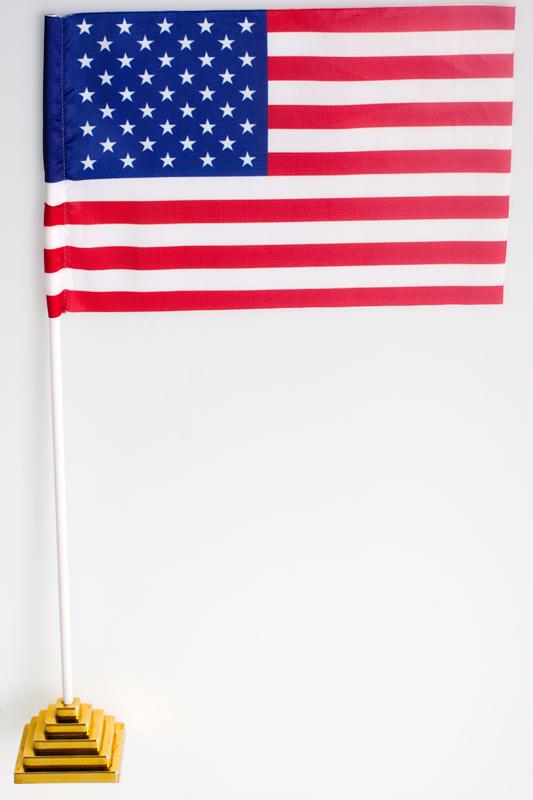 Флажок настольный США