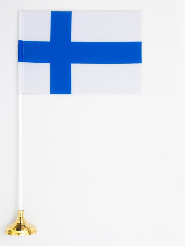 Флажок настольный «Флаг Финляндии» по акции