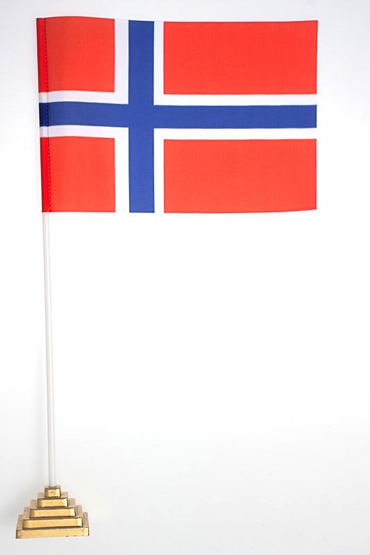 Флаг Норвегии по акции
