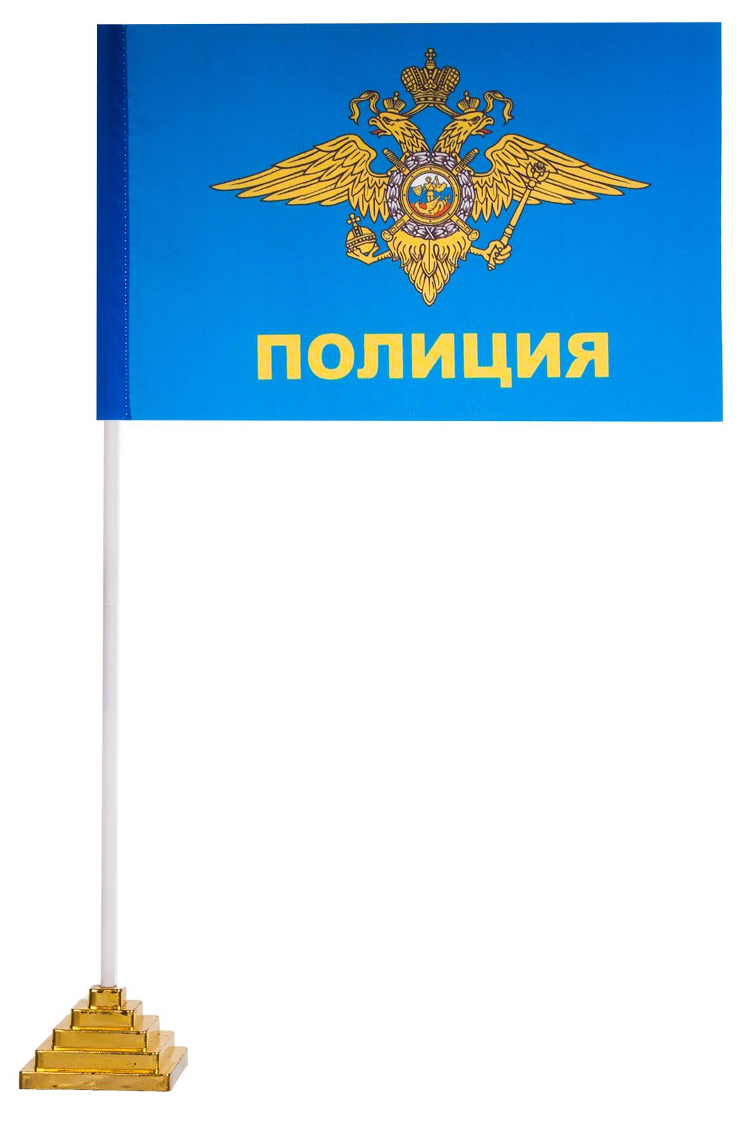 """Флажок настольный """"Полиция"""""""