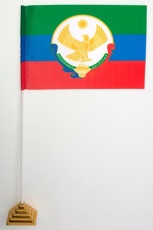 Флажок настольный Республики Дагестан новый