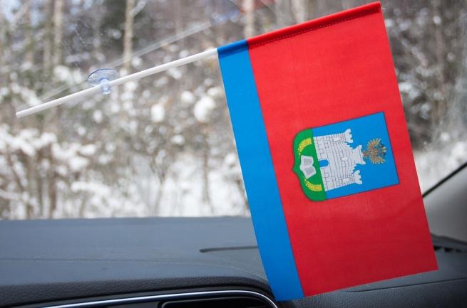 Флажок Орловской области на присоске