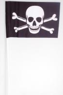 Флажок на палочке «Пиратский с костями»