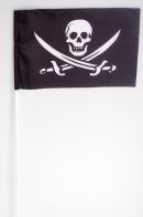 Флажок на палочке «Пиратский с саблями»