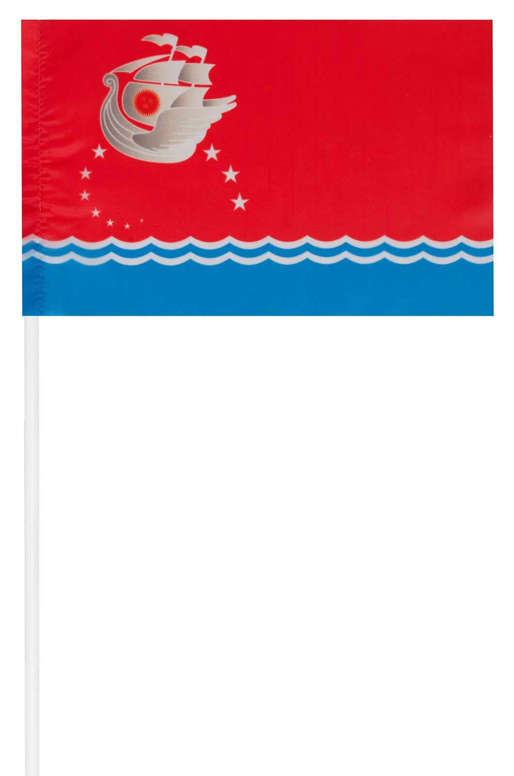 Купить флажок поселка Приморский онлайн по низкой цене