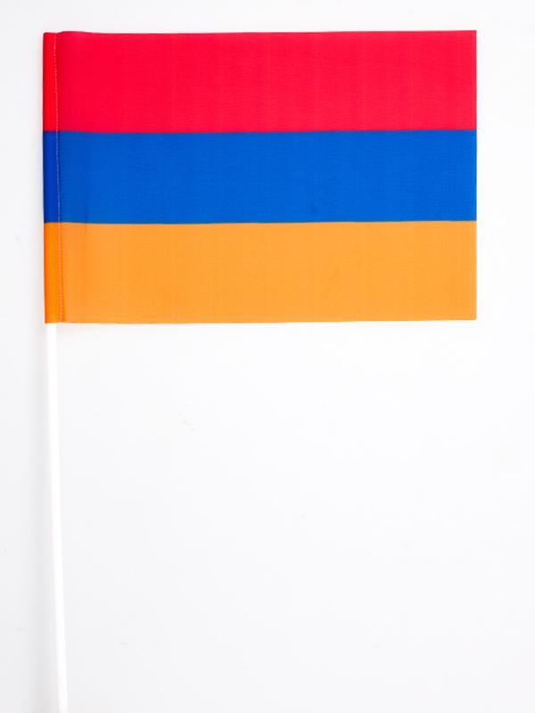 Флажок Республики Армения на палочке