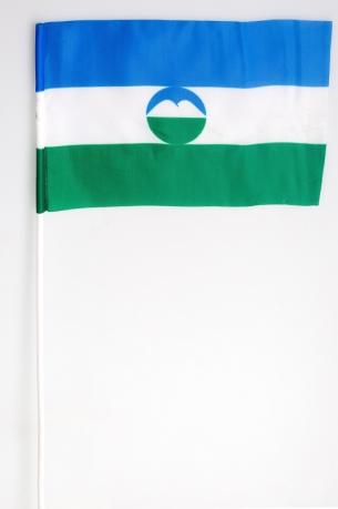 Флажок Республики Кабардино-Балкарии на палочке