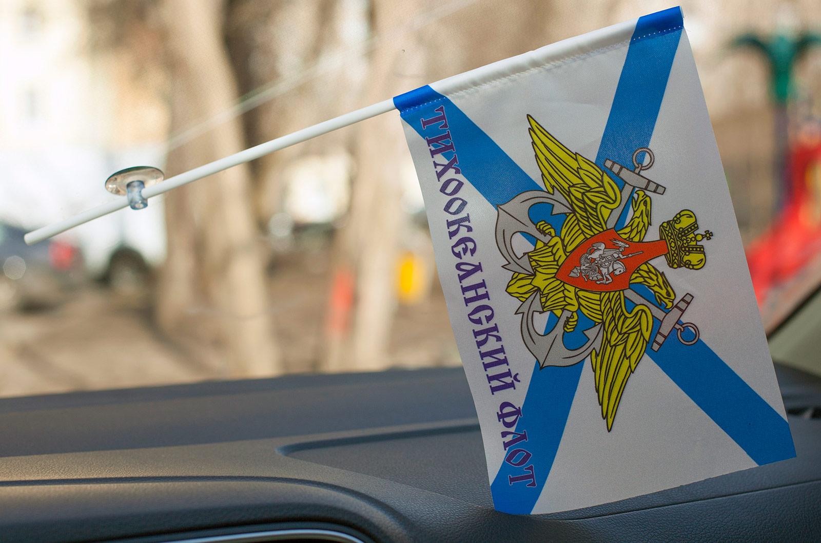 Флаг ТОФ на присоске