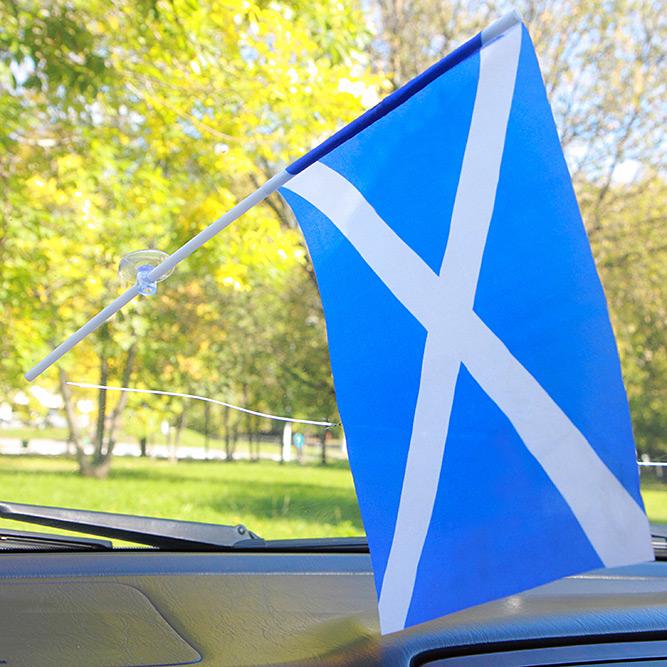 Флажок Шотландии с присоской