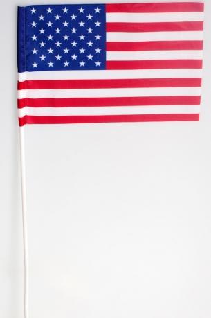 Флажок США на палочке