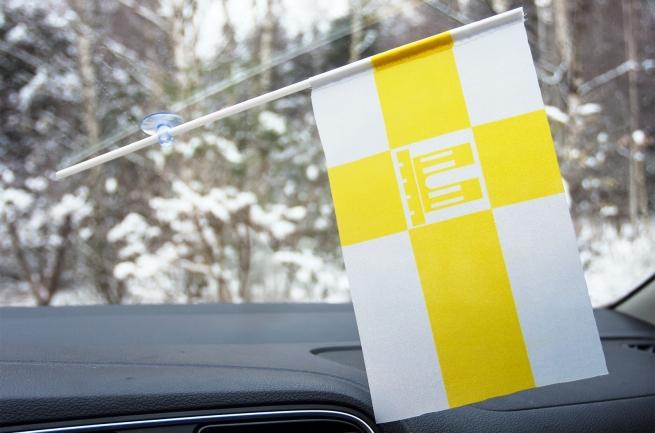 Флажок Ставрополя в машину