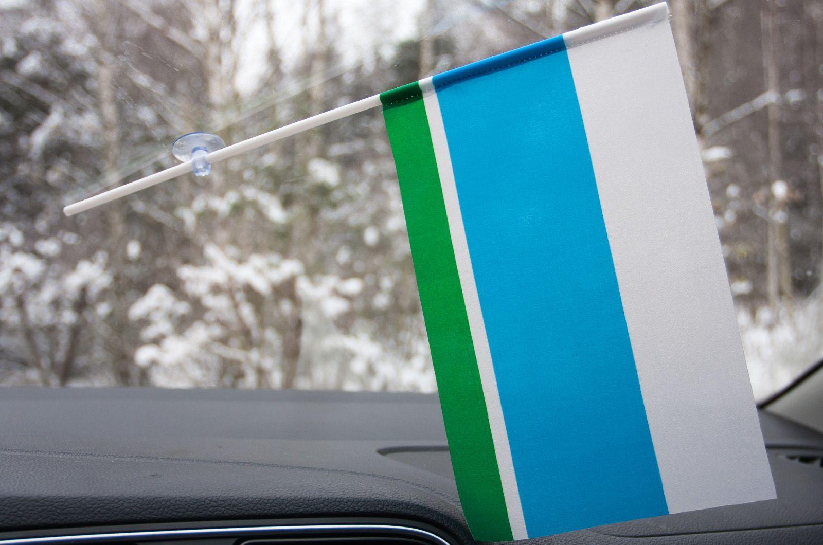 Флажок Свердловской области в машину