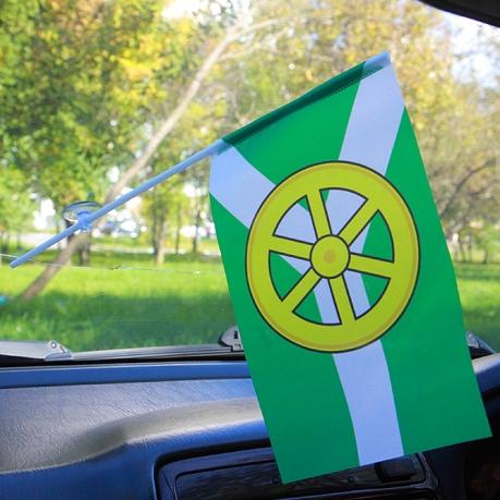 Флажок Узловского района в машину