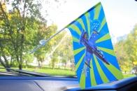 """Флажок в машину Пилотажная группа """"Русь"""""""