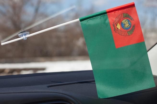 Флажок в машину «Пограничные войска СССР»