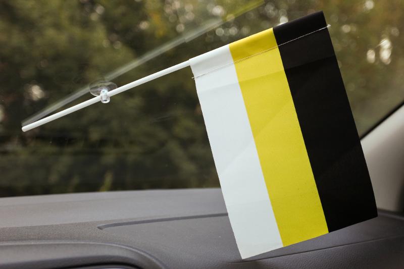 Флажок в машину с присоской Имперский