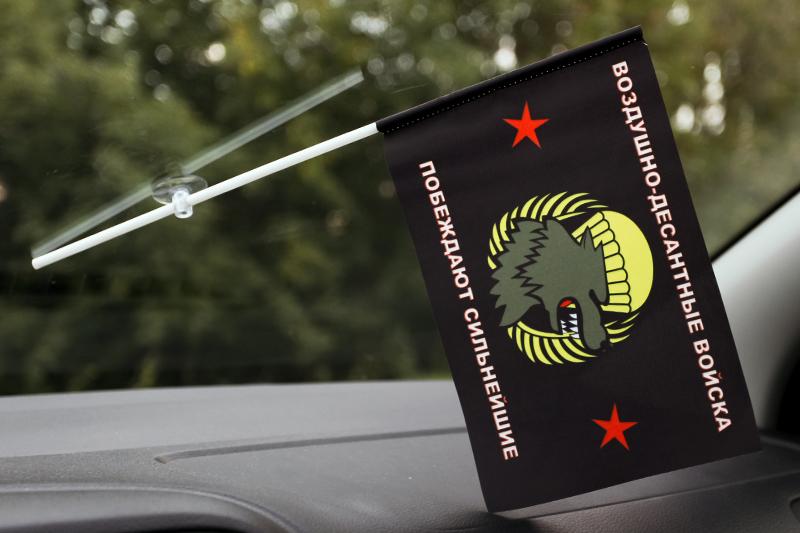 Флажок Спецназа ВДВ с эмблемой