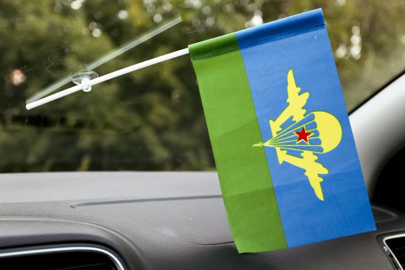 Флажок в машину с присоской ВДВ СССР