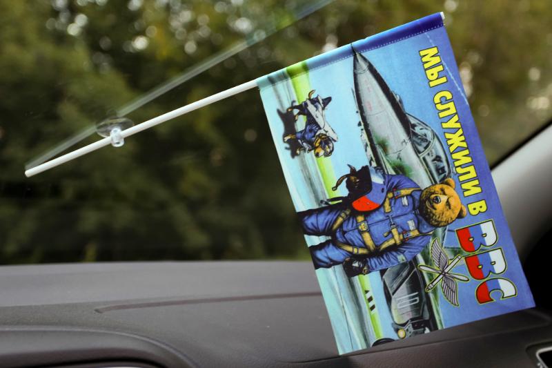 Флажок в машину с присоской ВВС «Медведь»