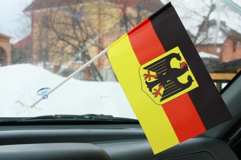 Двухсторонний флаг Германии