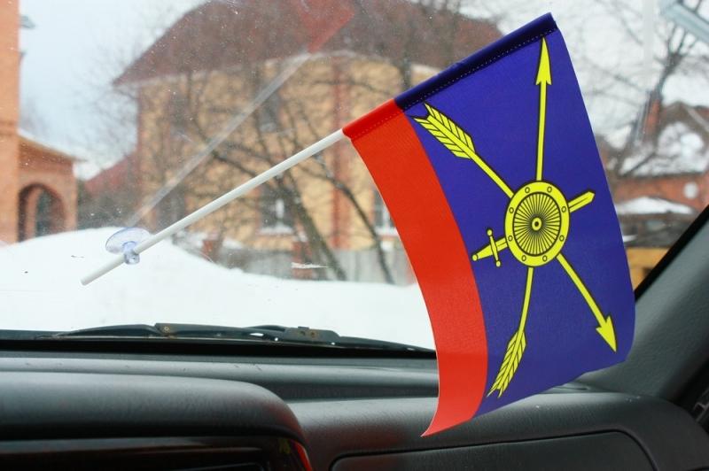 Флажок в машину с присоской РВСН