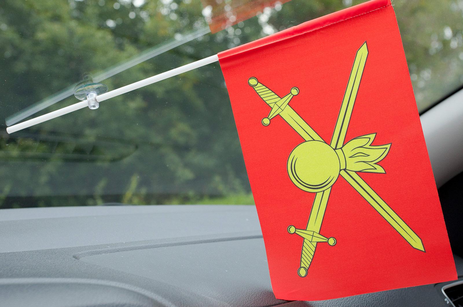 Флажок в машину с присоской Сухопутные войска