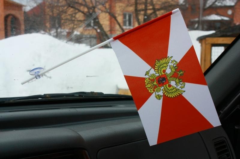 Флажок в машину с присоской Внутренние войска