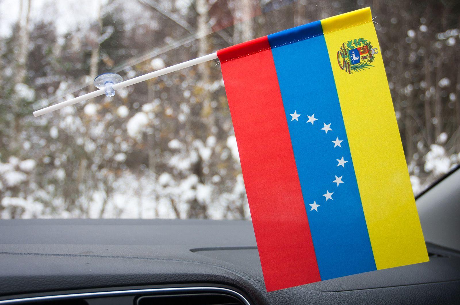 Флажок Венесуэлы на присоске