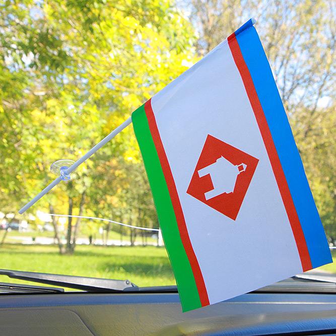 Флажок Якутска в машину