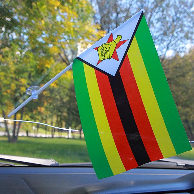 Флажок Зимбабве в машину
