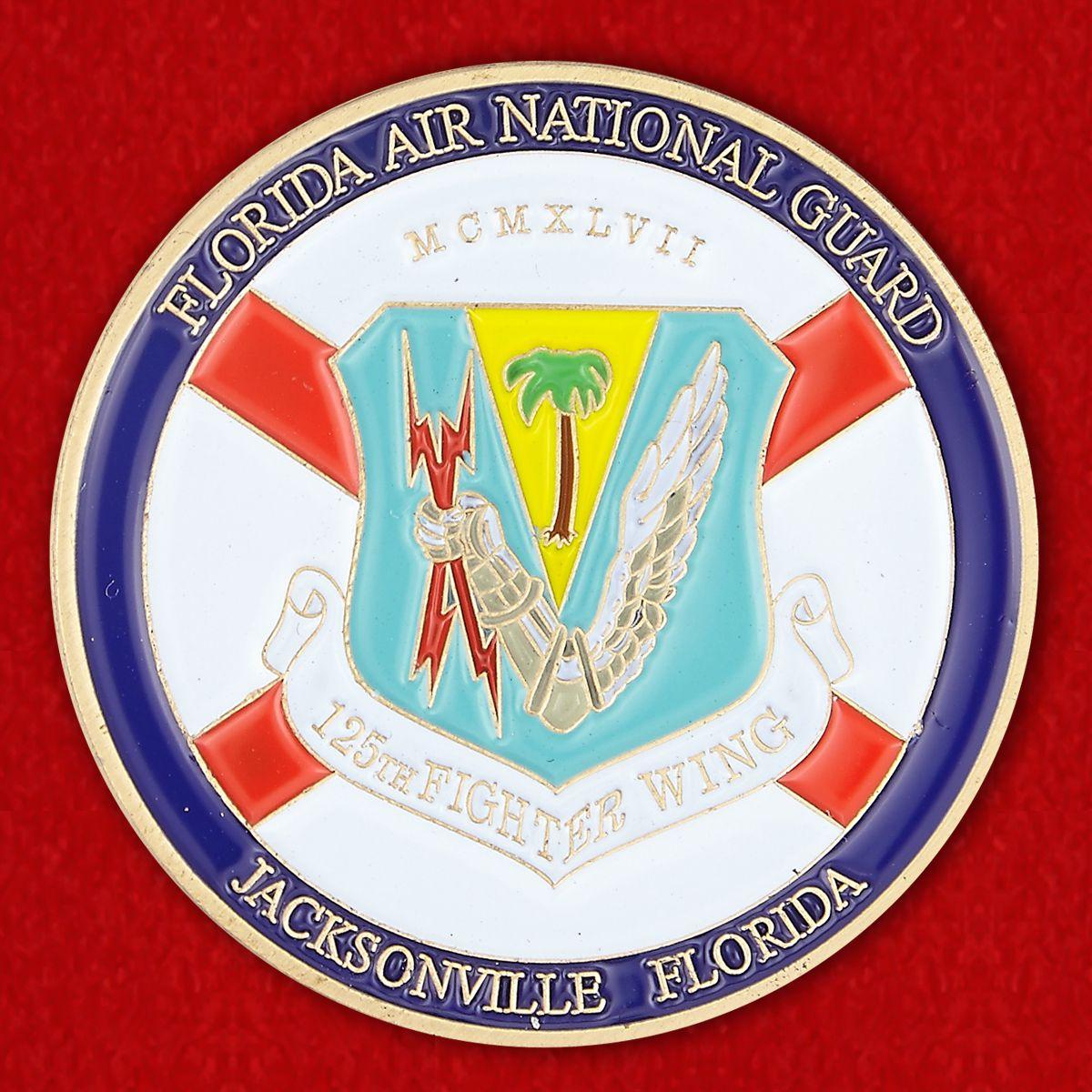 Florida Air National Guard Challenge Coin