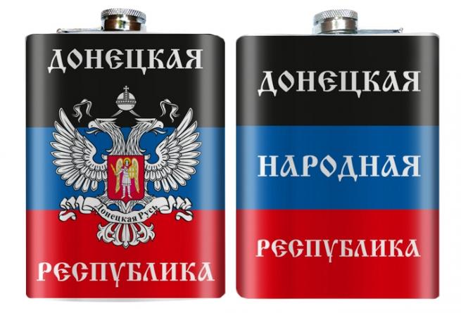 """Оригинальная фляжка """"Донецкая республика"""""""