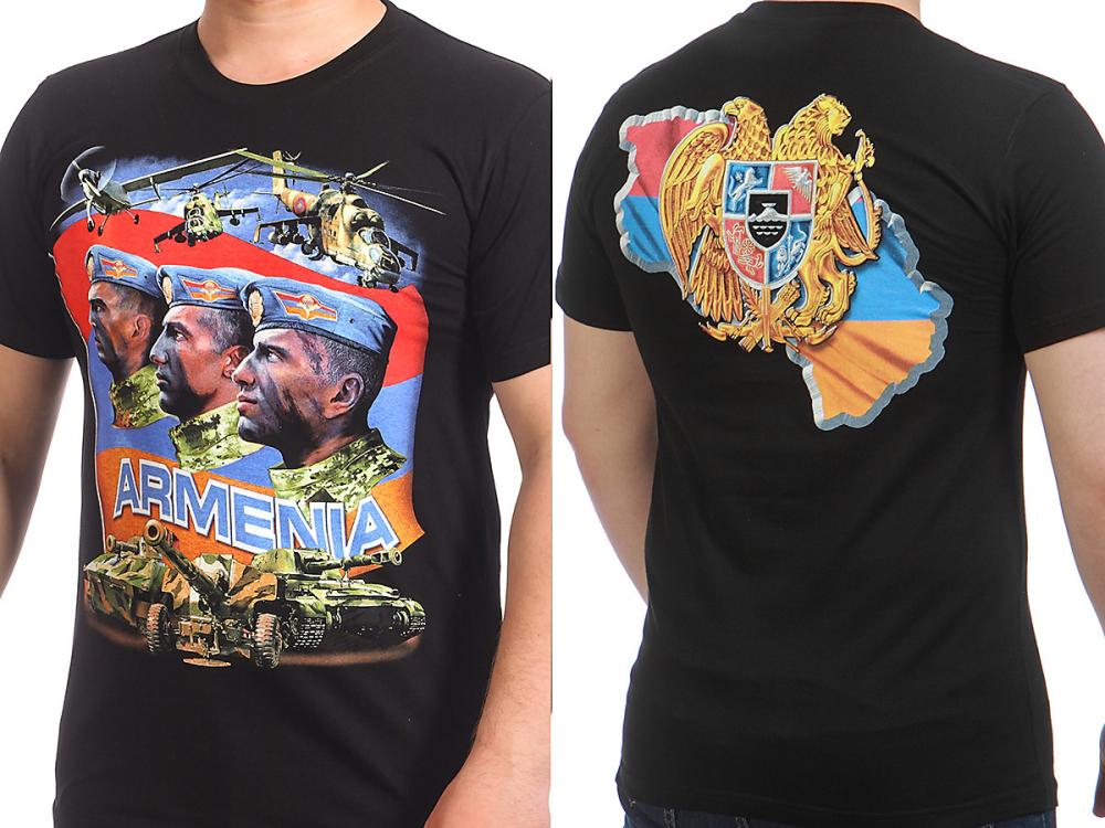 Доставка футболок Армения по всей стране и за рубеж