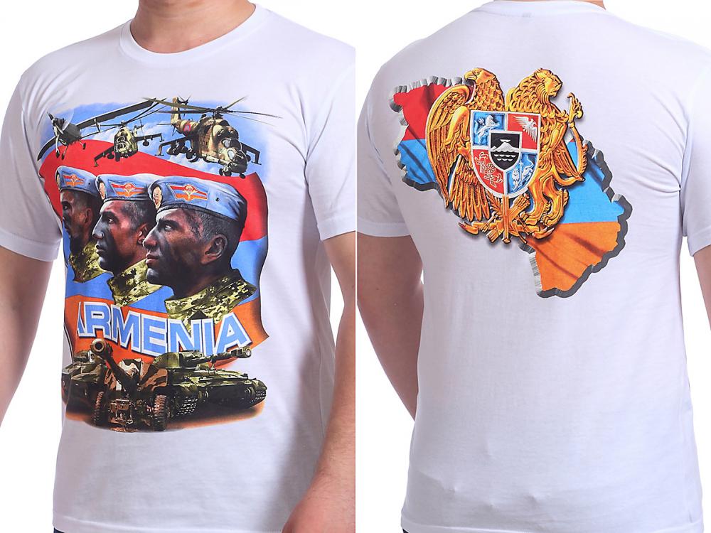 Футболка армянская - натуральный хлопок, авторский принт