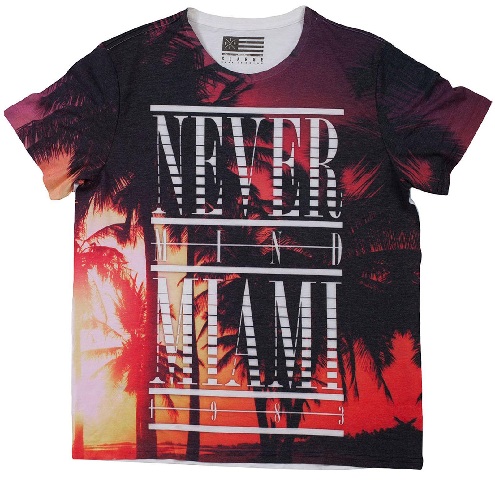 """Футболка """"Never Mind Miami"""""""