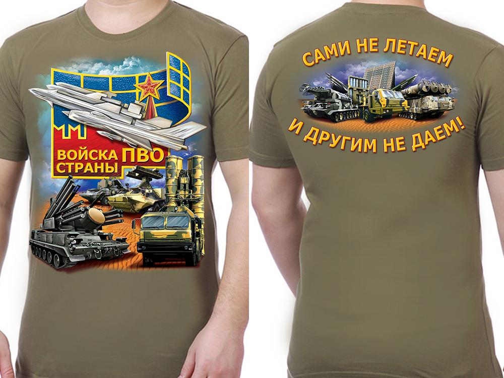 Футболка ПВО России - общий вид