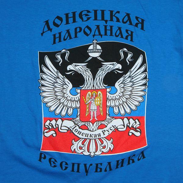 Футболка с флагом ДНР