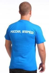 """Футболка с Путиным """"Россия, вперёд!"""""""
