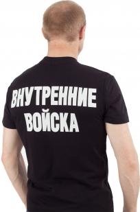 Футболка «Внутренние Войска» чёрная