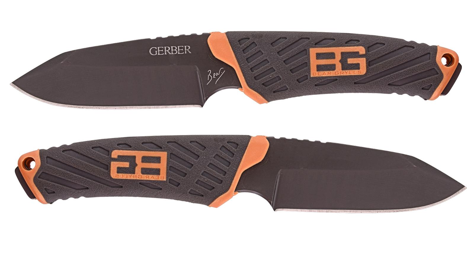 Нож Gerber Bear Grylls Fixed Blade для выживания